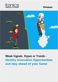 Weak Signals, Hypes or Trends — Identify Innovation Opportunities and stay ahead of your Game